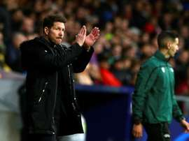 Diego Simeone's team do not win that many games 1-0. EFE