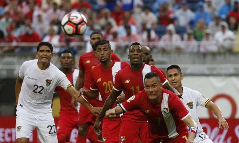 Panamá y Bolivia se verán las caras en un amistoso en noviembre. EFE