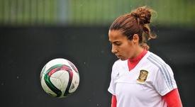 La internacional española y capitana del equipo vasco estará de baja por tiempo indefinido. EFE