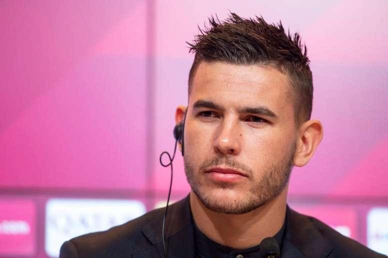 O Bayern confirmou o tamanho da lesão de Lucas. EFE/EPA/LUKAS BARTH-TUTTAS