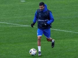 Angel Rodriguez, forfait contre Leganés. EFE