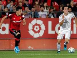 Fran Gámez avisó ante la relajación tras ganar al Madrid. EFE