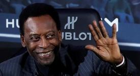 La leggenda vivente del calcio, il brasiliano Pelé. EFE