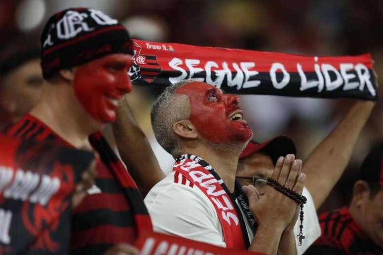 Torcida do Flamengo já é maioria em Lima. Goal