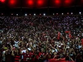 A equipe carioca não estará sozinha na final da Libertadores. EFE/Antonio Lacerda