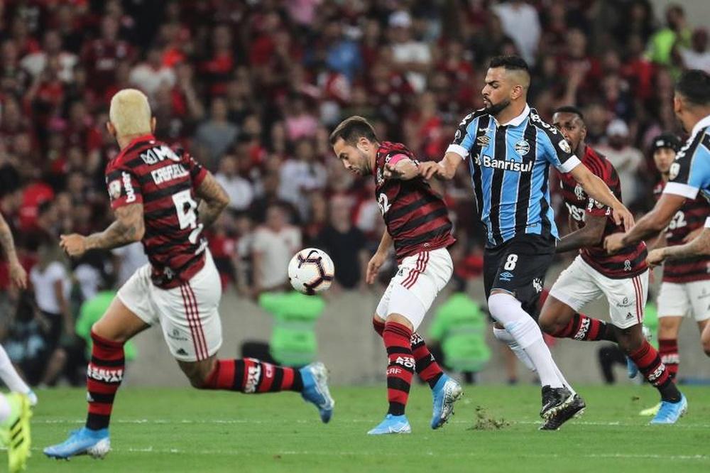 Imbróglio  entre Grêmio e Fla pode suspender Copa do Brasil. AFP