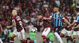 Grêmio - Flamengo: onzes iniciais confirmados. EFE