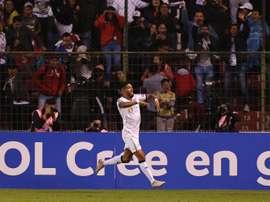 Liga de Quito pone un pie en la final. EFE