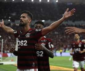 Pablo Marí adoraria conhecer Pep Guardiola. EFE/Marcelo Sayao