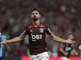 Descanso obrigatório a quatro titulares do Flamengo. EFE/Marcelo Sayao