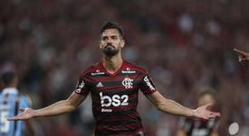 Descanso obligado para cuatro titulares de Flamengo. EFE