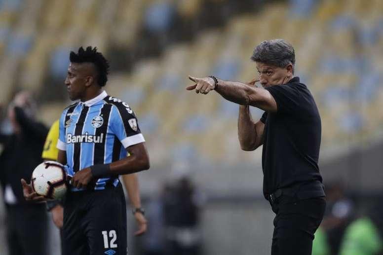 O Grêmio vai se preparar em Santa Catarina, onde poderá ter treinos em grupo. EFE/Marcelo Sayao