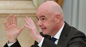 La FIFA quiere que Iraq juegue en terreno neutral. EFE/ Yuri Kadobnov /Archivo