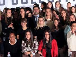Huelga en el fútbol femenino. EFE