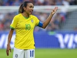 Marta y Formiga, llamadas por Brasil. EFE