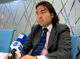 El presidente del Rayo se pronunció sobre la situación del fútbol femenino. EFE