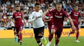 Rodrigo se lesionó ante el Athletic y podría perderse lo que resta de curso. EFE