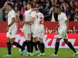 Sevilla vai completar 2.500 partidas no Campeonato Espanhol. EFE/Julio Muñoz/Archivo