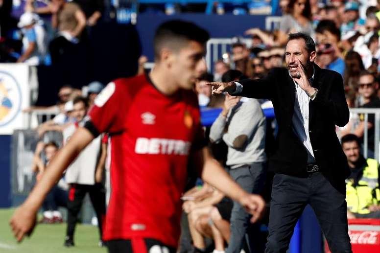 Vicente Moreno ya piensa en el jueves. EFE/Mariscal