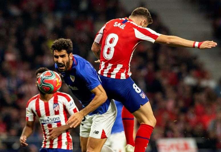 Raúl García no se ven tan esencial para el Athletic. EFE/Rodrigo Jiménez