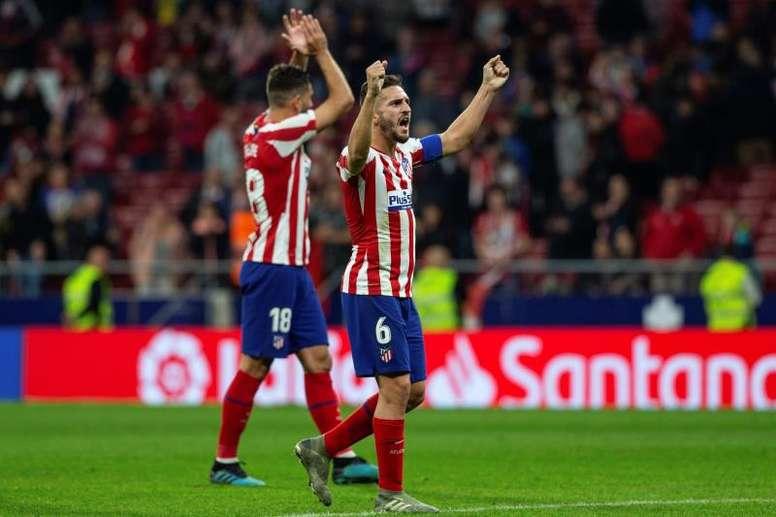 Koke cree que el Atlético desaprovechó muchas ocasiones. EFE