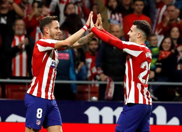 El Atlético, dispuesto a escuchar ofertas por Mario Hermoso. EFE
