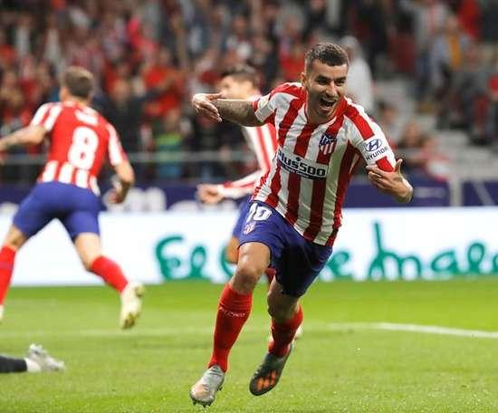 Correa brilha mais que Diego Costa. EFE