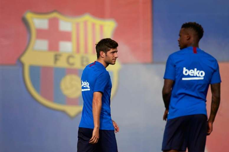 Good news for Barce as Sergi Roberto returns. EFE