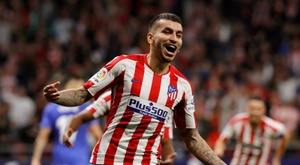 Angel Correa says Atletico are looking forward to the challenge. EFE