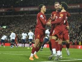 O Liverpool vira na base da raça. EFE