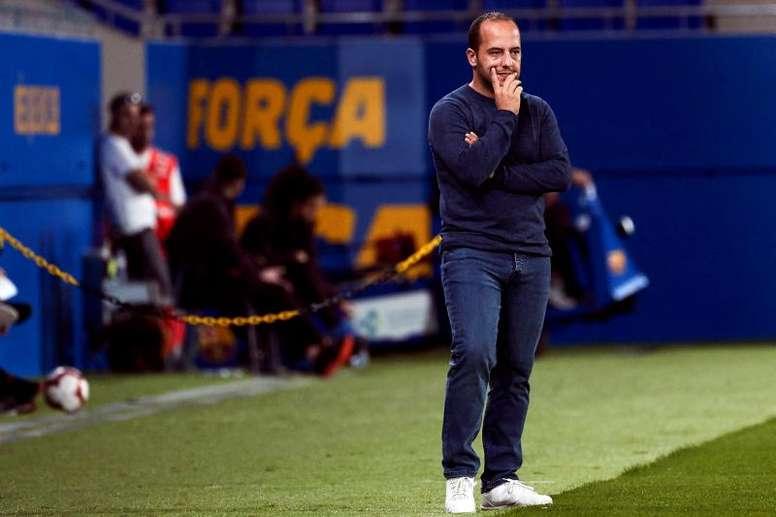 Lluís Cortés aseguró que van a ganar. EFE