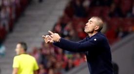 El Athletic sufrió su primera derrota en siete partidos. EFE