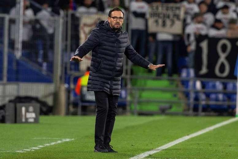 Everton quer Bordalás. EFE/Rodrigo Jiménez