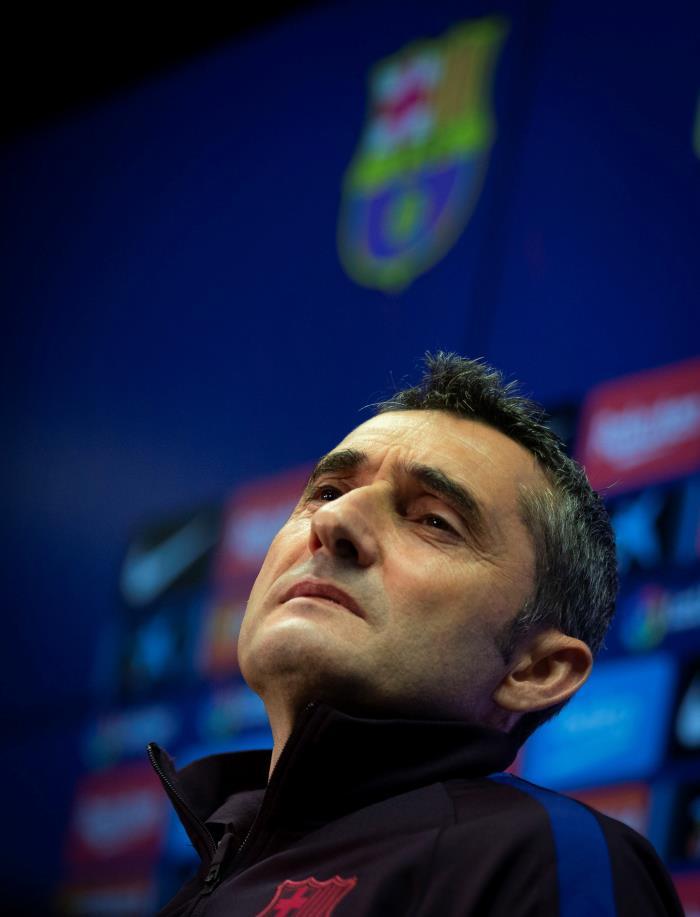 Todo o nada para Valverde. EFE