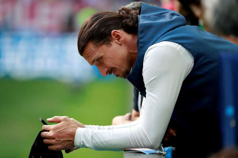 Ibrahimovic is rumoured to be making a comeback to Italy. EFE
