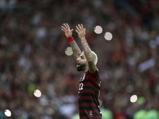 La CONMEBOL multará a Flamengo por el cartel de Gabigol. EFE