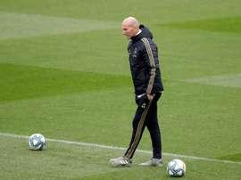 Zidane deixa Bale, James e Vinicius de fora, mas conta com Modric. EFE