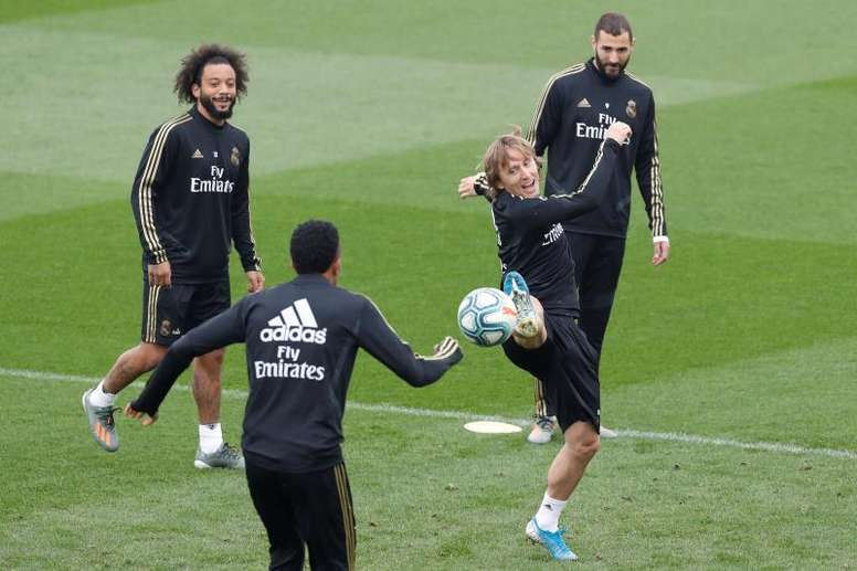 Modric e Marcelo possono lasciare il Real Madrid. EFE