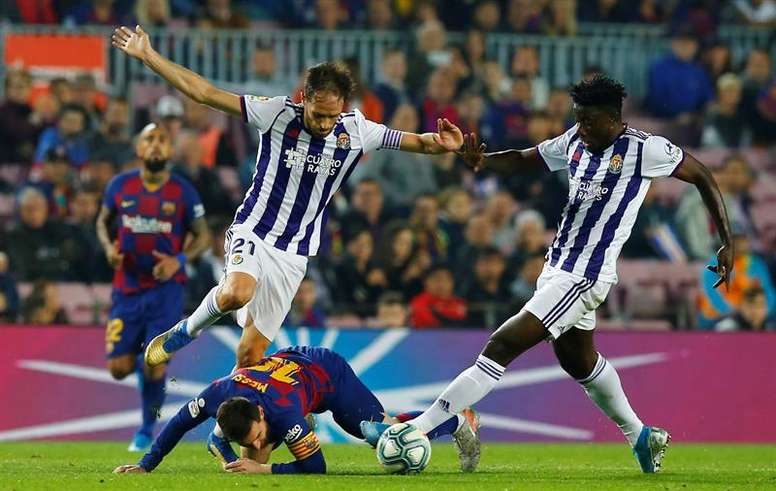 Rennes are keen on the Valladolid player. EFE