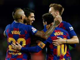 Vidal called for more game time and he played excellently v Valladolid. EFE