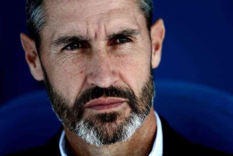 Vicente Moreno aboga por terminar la Liga. EFE