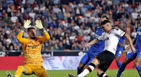 Vaclik incertain pour le derby de Séville. EFE/Manuel Bruque