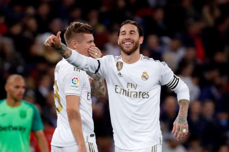 Ramos, un mes de récords. EFE