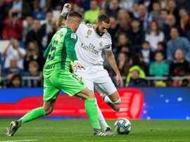 Les compos probables du match de Liga entre Leganés et le Real Madrid. efe