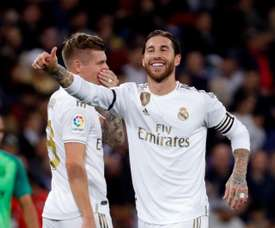 Without Casemiro, but with Ramos. EFE
