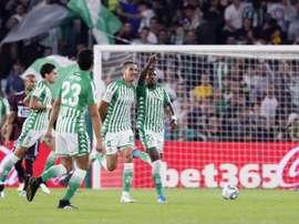 La bonne saison d'Ederson avec le Bétis. EFE/ Jose Manuel Vidal