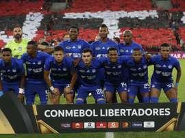 Delfin-Liga de Quito, la final de la Copa Ecuador. EFE