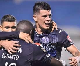 Motagua logra el pase a la final. EFE/José Valle
