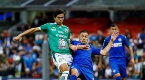 El Cruz Azul-León fue el último partido de la jornada. EFE