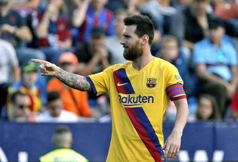 Iniziano le trattative per il rinnovo di Messi. AFP